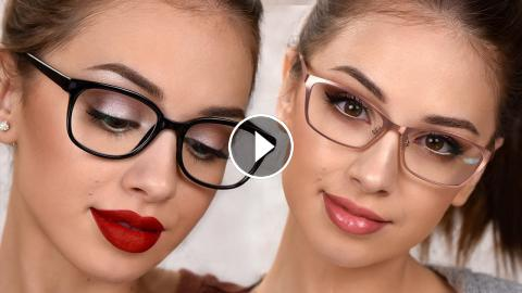 Makeup For Glasses 3 Easy Everyday Makeup Looks - Everyday-makeup-looks