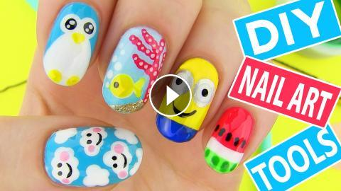 Easy Nail Art Tutorial Without Tools Papillon Day Spa