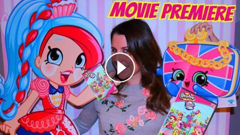 Shopkins World Vacation Movie Premiere With Sandra Awesome Toys Food Party For Kids And Fans