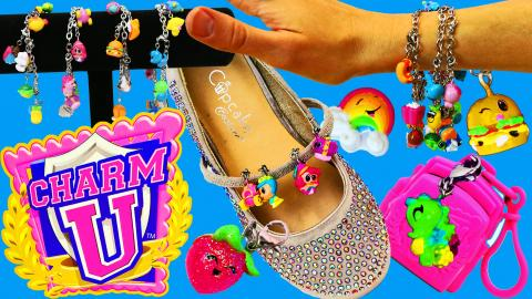 CHARM BRACELETS! Dress Up Blind Bags with Charm U Cute Princess & Food Collectable Jewelry