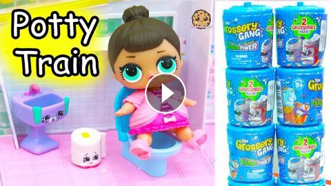 Toilet Potty Training Lol Surprise Baby Doll Grossery