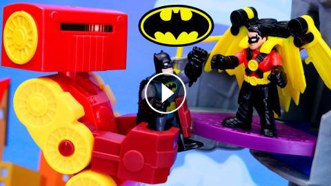 Batman And Red Robin Order Imaginext Big Rig Robot