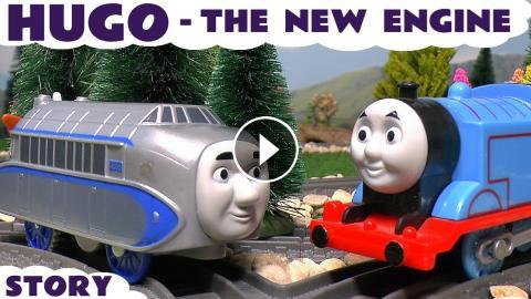 thomas and friends new toy trains hugo vs thomas and the