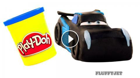 Cars 3 jackson storm play doh stop motion video disney for Three jackson toy