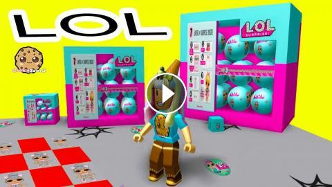 lol ad try my obby roblox Giant Lol Surprise Box Roblox Obby Random Worlds Cookie Swirl C Game Play