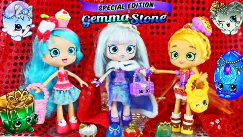 GEMMA STONE Shopkins!!! Limited Edition Shoppies Doll Fashion Show & Makeover NEW BLACK FRIDAY