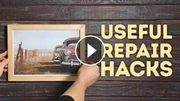 Useful Diy Repair Hacks That Are Quick And Easy L 5 Minute Crafts