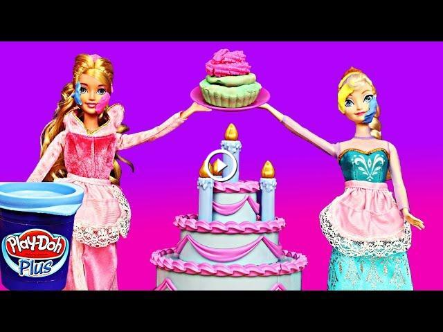 Sleeping beauty princess aurora disney frozen elsa play for M m cake decoration