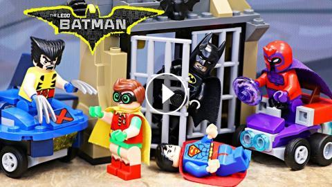 Lego Batman Meets X-Men Magneto and Wolverine While Superman and ...