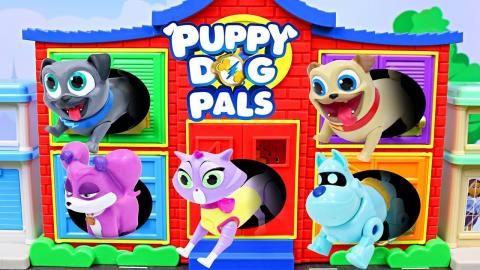 Puppy Dog Pals Blind Bags Full Case Rolly Bingo Hissy Complete