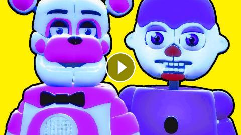 NEW SCARY ANIMATRONICS!! - Gmod FNAF Sister Location Funtime Freddy