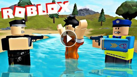 Roblox Prison Break Out And Captured By Police