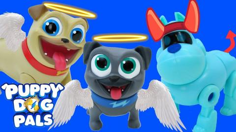 Puppy Dog Pals New Episode Playset Rolly Goes Blind Bingo Hissy