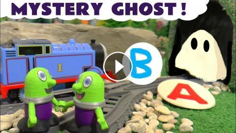 Funny Funlings Guess The Ghost Thomas Friends Fun Play Doh Letter Game For Kids Children TT4U