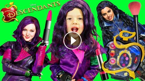 DESCENDANTS 2 Disney Movie Makeover Mal Costume & Makeup +