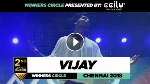 Vijay D | 2nd Place Upper Division | Winners Circle | World