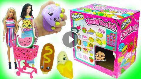 Squishy Haul Blog : Squishy Squish Dee Lish Shopkins Surprise Blind Bag Squishes - Mystery Toys Haul