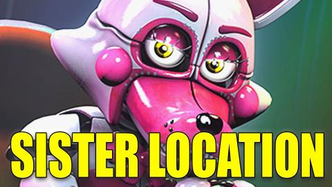 NEW! FNAF SISTER LOCATION MOD! - Gmod Funtime Foxy Ragdoll (Five Nights At Freddy's)