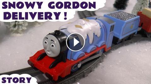 Thomas and Friends Trackmaster Snowy Gordon Delivery Toys Story
