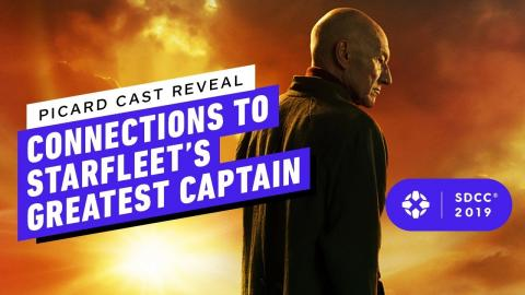 Picard Cast Reveal Connections to Starfleet's Greatest